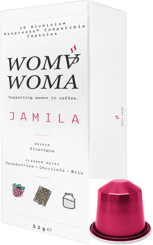 Jamila pack with pod