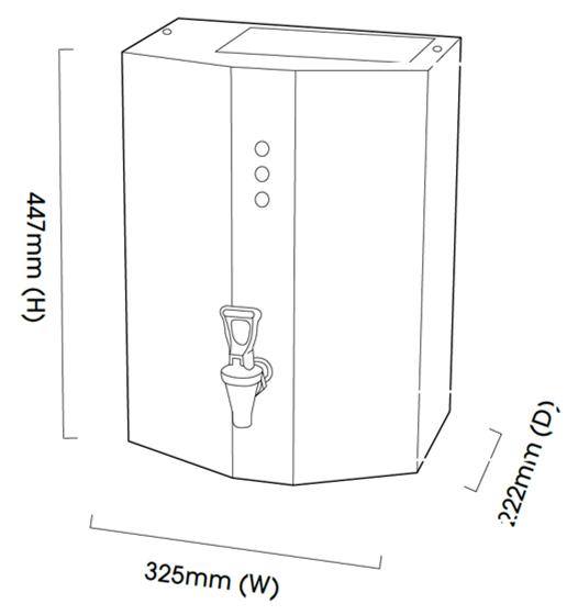 Wall Mounted Water Boiler