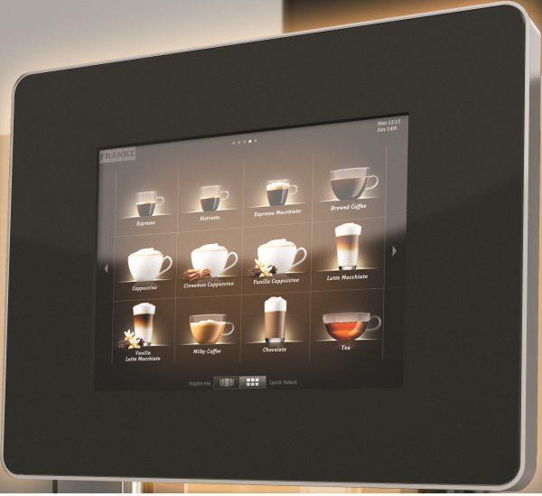Franke A600 bean to cup coffee machine